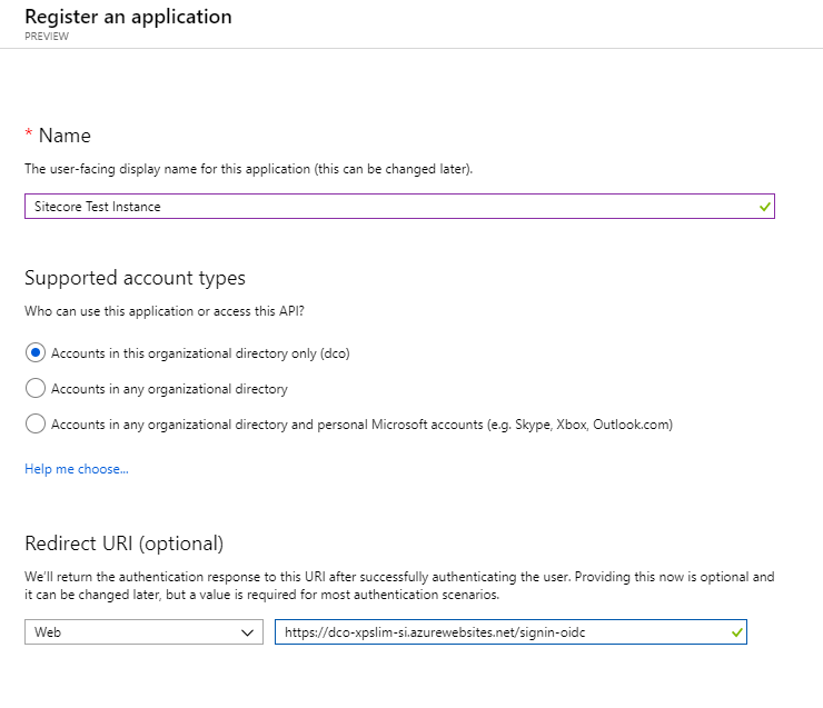 Setting Up Azure Active Directory Integration with Sitecore Identity